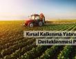 Kırsal kalkınma yatırımlarının tamamlanmasında süre uzatıldı